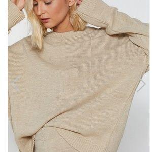 Nasty Gal sweater Set